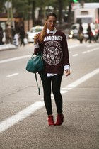 crimson Primark sweater
