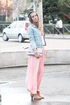 Stradivarius boots - Zara jacket