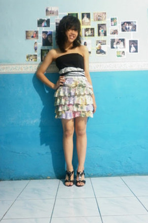 DIY dress - Rotelli heels