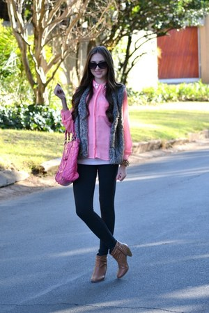 Mr Price blouse - Woolworths boots - Michael Kors watch