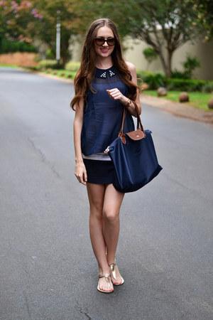 Michael Kors watch - cotton on shoes - longchamp bag