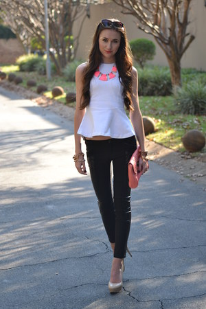 Michael Kors watch - Mr Price bag - Legit pants - Zara top - Aldo heels