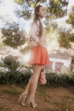 Mr Price skirt - Europa Art shoes - Levis shirt - Forever New bag