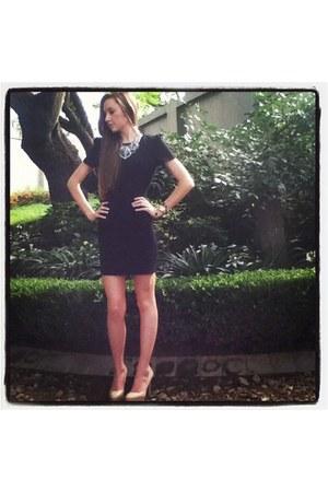 Michael Kors watch - Zara dress - Lancom necklace - Aldo heels