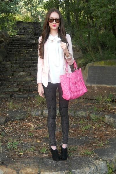 Zara blazer - Zara blouse