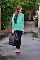 cotton on sweater - Celine bag - Legit pants - Michael Kors watch - Legit flats