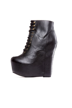 black Jeffrey Campbell boots