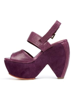 purple GeeWaWa wedges