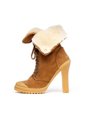 camel Philip Simon boots