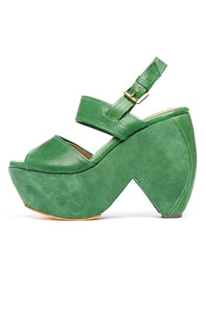 green GeeWaWa wedges