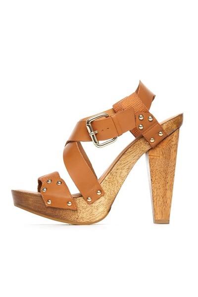 camel Madison Harding sandals