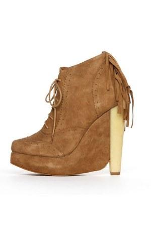 camel Plomo boots