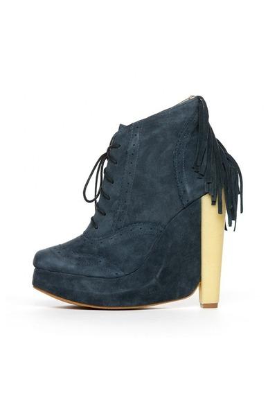 navy Plomo boots