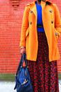 Carrot-orange-pea-coat-jessica-simpson-coat