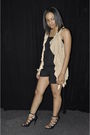 Black-aldo-shoes-beige-cardigan-black-shapes-boutique-shorts