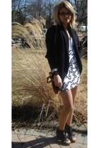 wilfred sweater - skirt - leather purse purse - JC shoes