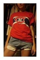 vintage shirt - Diesel shorts