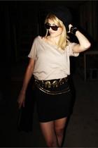 vintage belt - wilfred skirt