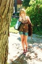 Zara shorts - winners purse