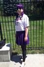 Purple-skater-skirt-skirt-black-flats-flats