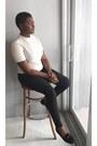 Ivory-forever-21-shirt-black-h-m-pants-black-forever-21-loafers