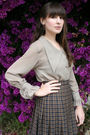 Vintage-ferragamo-cardigan-thrifted-blouse-vintage-skirt-american-apparel-