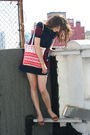 Built-by-wendy-dress-thrifted-bag-vintage-cardigan-anthropologie-shoes