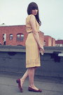 Vintage-dress-vintage-shoes-vintage-purse-j-crew-belt