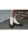 Vintage-blouse-vintage-skirt-american-apparel-socks-vintage-ferragamo-shoe