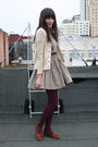 vintage dress - buy at asoscom asos shoes - American Apparel tights