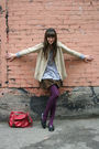 Thrifted-cardigan-thrifted-skirt-brandy-melville-sweater-marc-by-marc-jaco