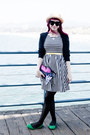 Textured-forever-21-tights-striped-modcloth-dress-canvas-betsey-johnson-bag