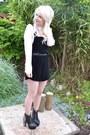 Black-lita-spike-jeffrey-campbell-boots-ivory-topshop-shirt