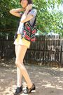 Gray-ecote-shirt-yellow-forever-21-shorts-vintage-vest-black-deena-ozzy-