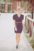 black Joe Fresh shoes - black Sugarlips dress