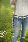 Blue-american-eagle-jeans-beige-american-apparel-top-purple-dooney-and-bourk