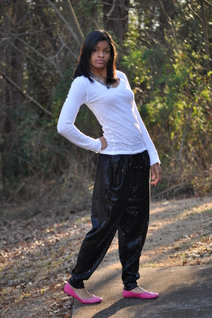 Kalli shoes - Forever21 shirt - H&M pants - 579 necklace