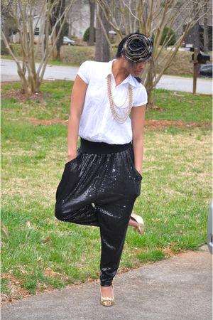 Shoe Land shoes - H&M pants - Aeropostale shirt - Forever 21 necklace - Forever