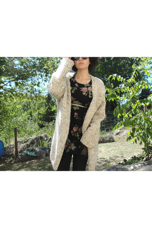 beige Sacks 5th Ave cardigan