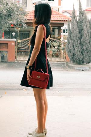 Topshop bag - Primark shoes - Topshop dress - Ebay bracelet