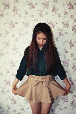 Zara bag - bought-online blouse - pant-skirt seventeen origins skirt
