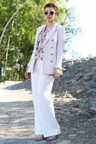 Love blouse - H&M blazer - H&M pants - Primark heels