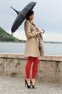 Black-ohmyfrock-shirt-beige-primark-coat-red-leather-3-suisses-pants