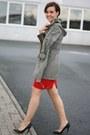 Parka-primark-coat-camouflage-romwe-shirt-h-m-skirt-mai-piu-senza-heels