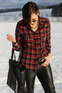 Cowboy-tamaris-boots-fur-lined-lucky-star-jacket-plaid-studded-no-name-shirt
