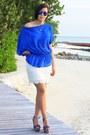 Blue-primark-blouse-white-lace-h-m-skirt-steve-madden-wedges