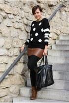 AX Paris sweater - Deichmann boots - trenchcoat happyrainydays coat