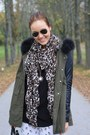 Tawny-noname-shoes-forest-green-leather-sleeves-romwe-jacket