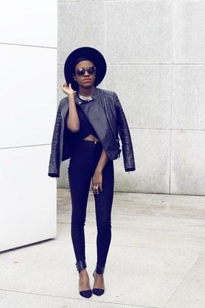 Forever 21 jacket - Zara heels