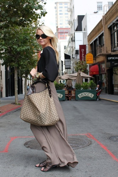 Gucci purse - Sam Edleman shoes - Fendi sunglasses - Forever 21 skirt